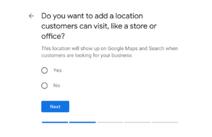 Do You Have a Business Location